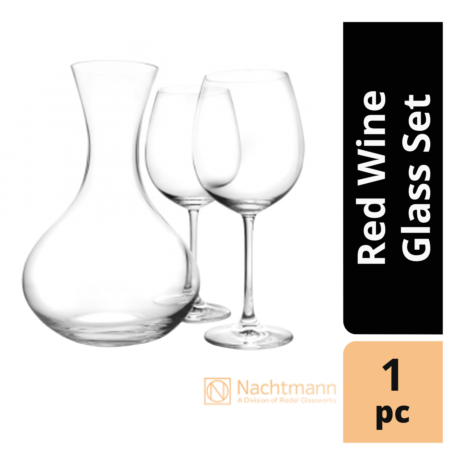 Nacthmann Decanter Red Wine Glass Set