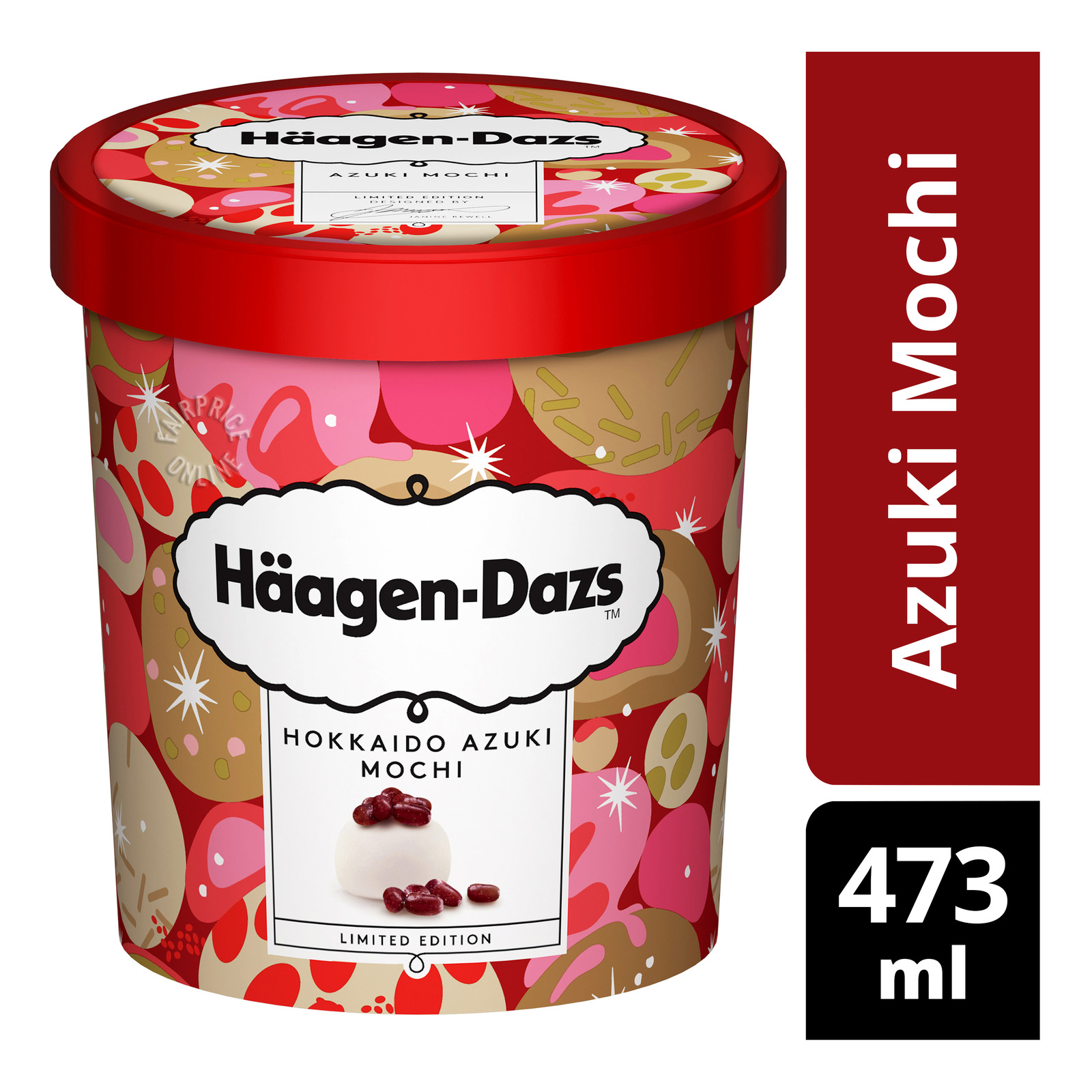 Haagen-Dazs Ice Cream - Azuki Mochi
