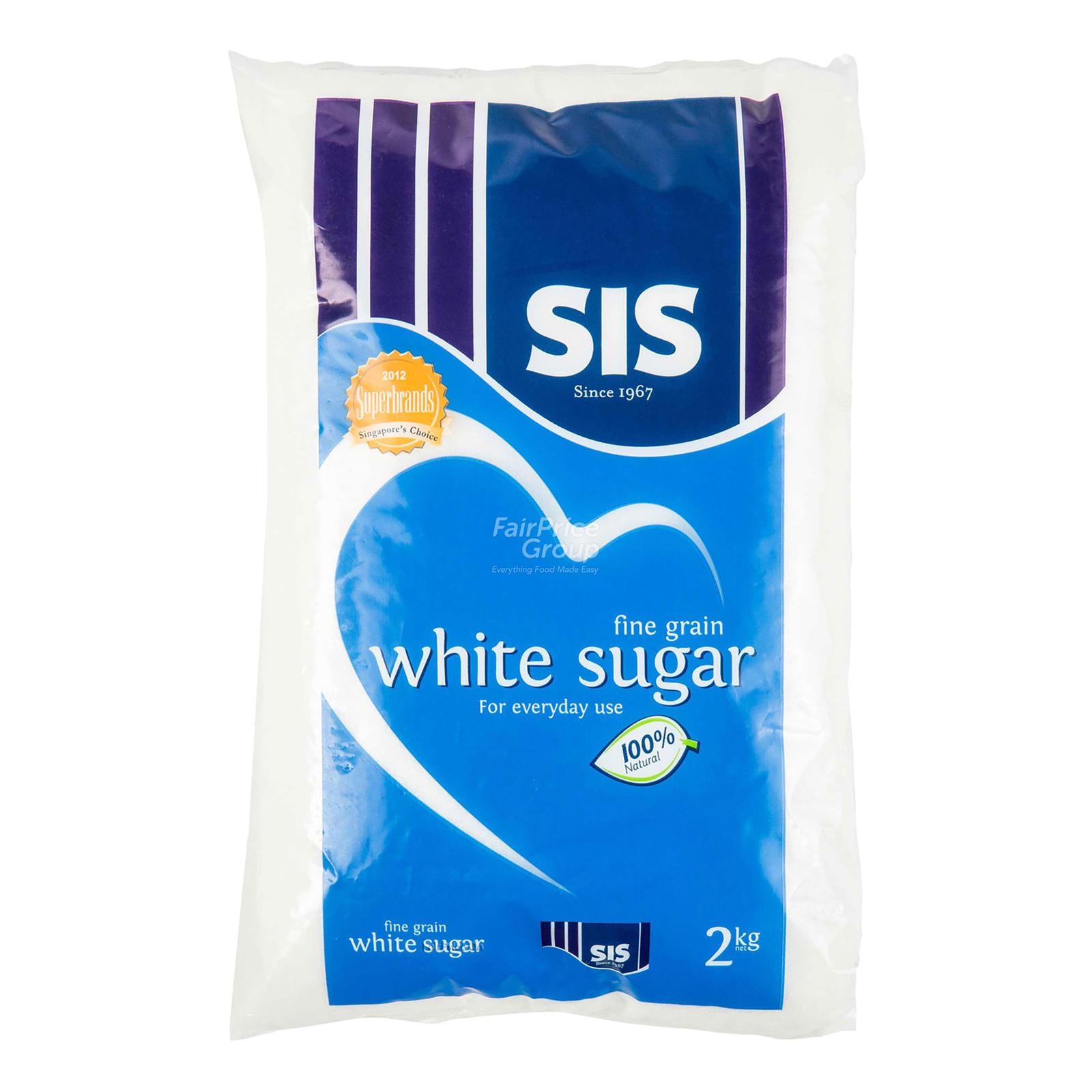 SIS White Sugar - Fine Grain