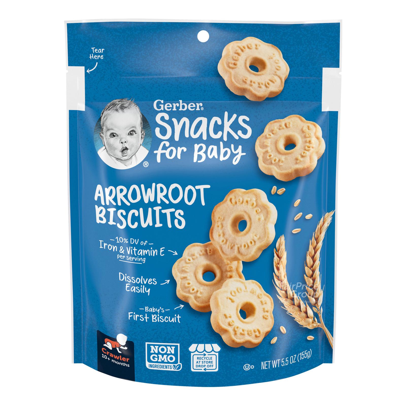 Gerber Baby Biscuits - Arrowroot