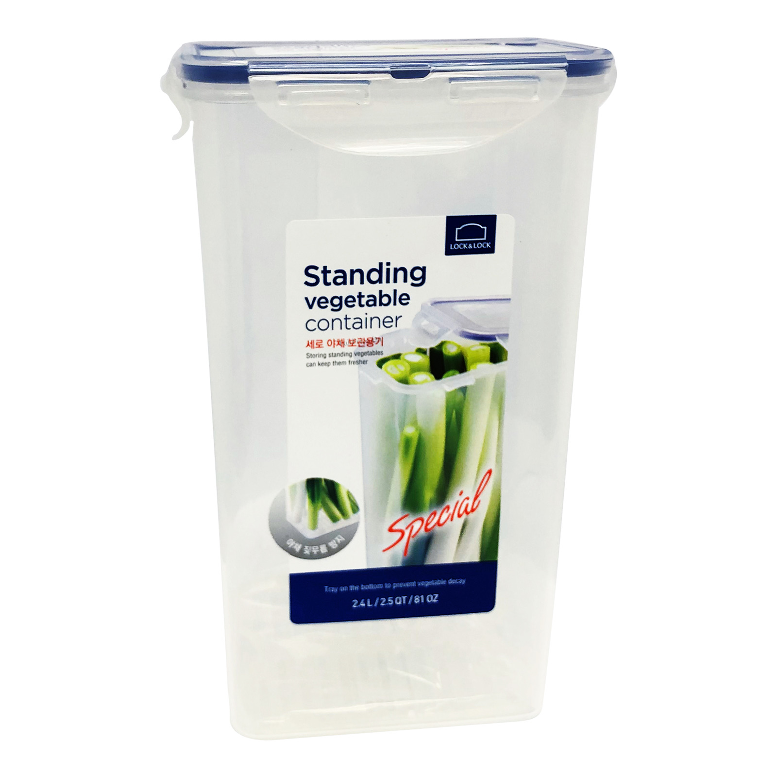 Lock & Lock Stackable Airtight Container - Standing Vegetable