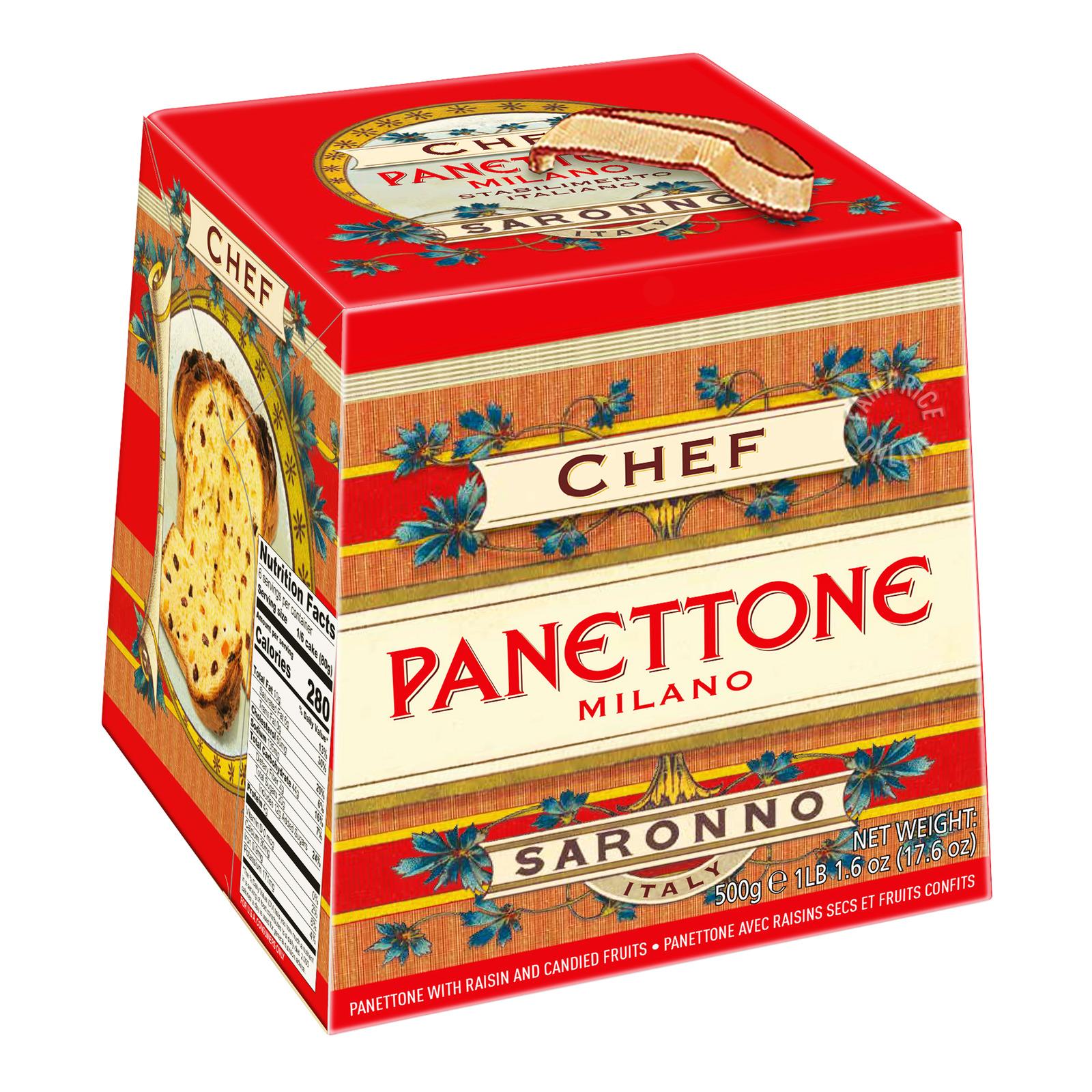 Chiostro Di Saronno Panettone Cake - Chef Classico