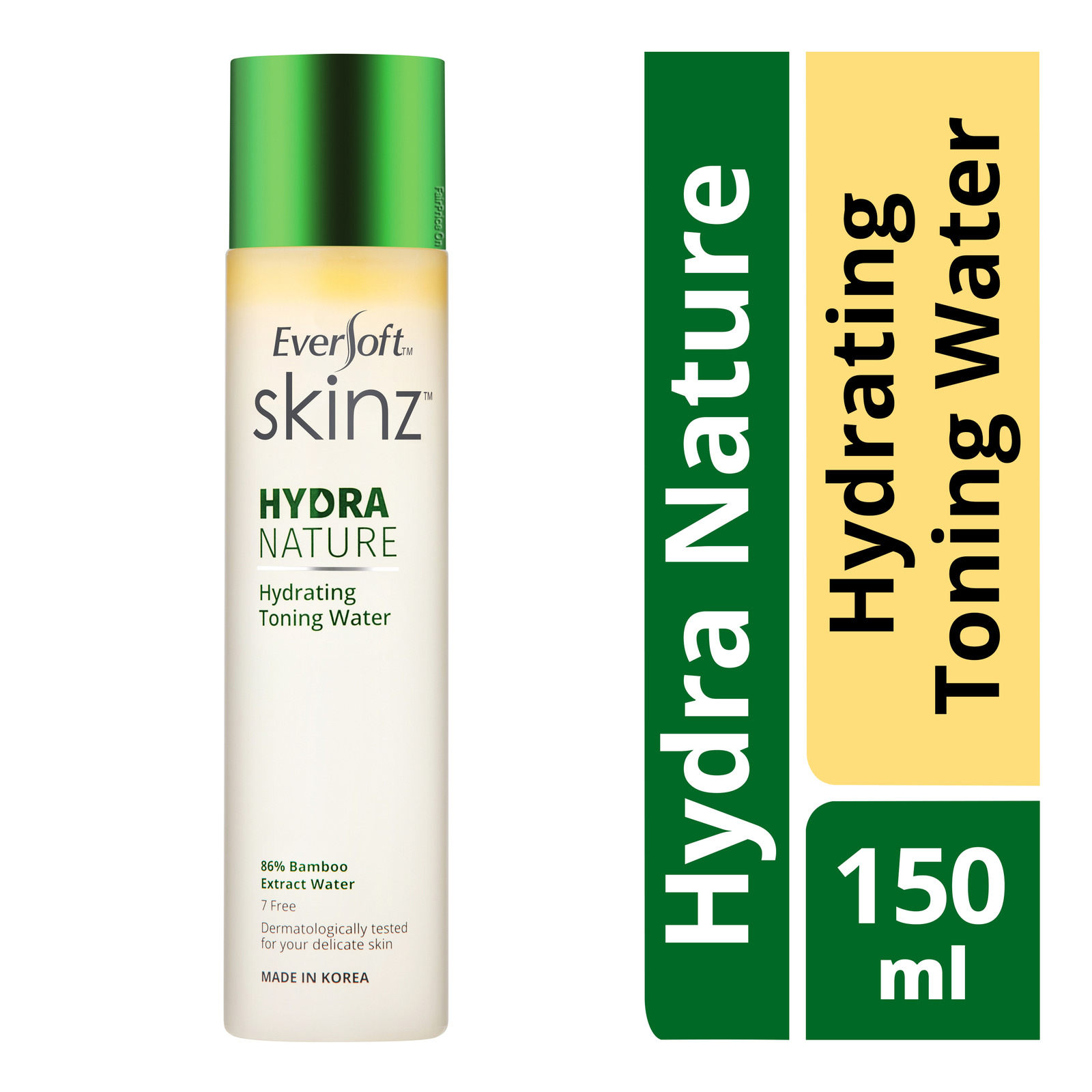 Eversoft Skinz Hydra Nature Hydrating Toning Water
