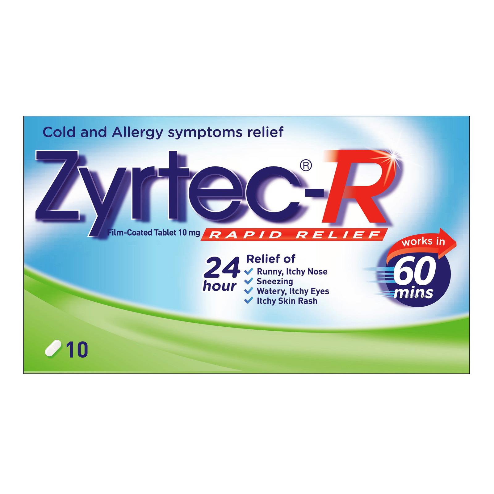 Zyrtec-R Rapid Relief Tablet