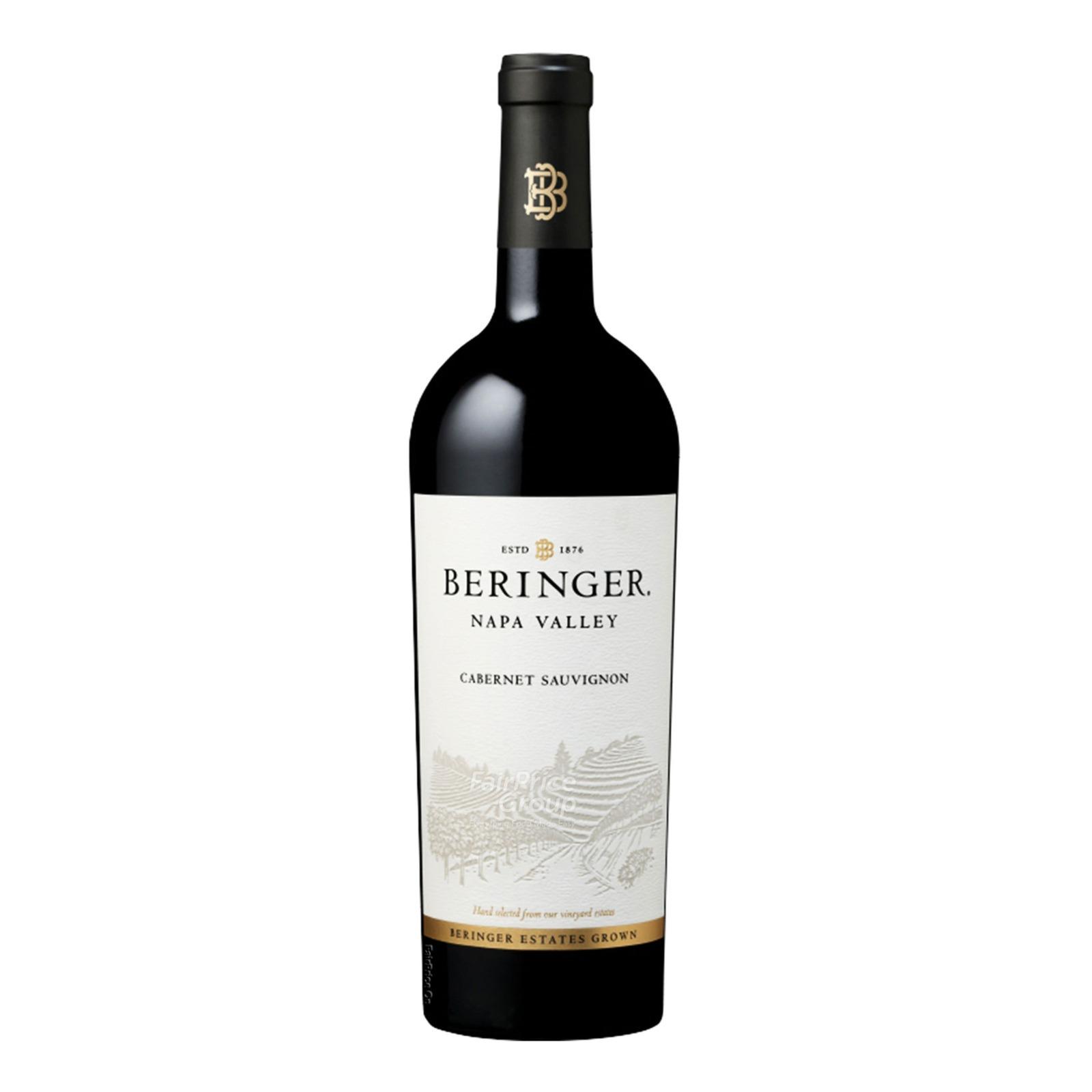 Beringer Napa Valley Red Wine - Cabernet Sauvignon