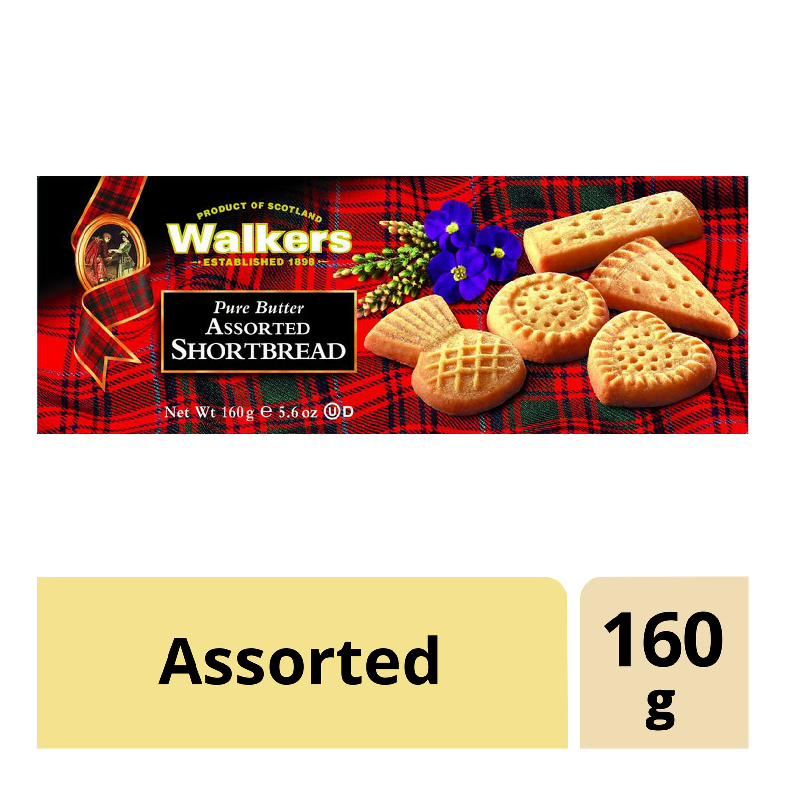 Walkers Shortbread Cookies - Assorted