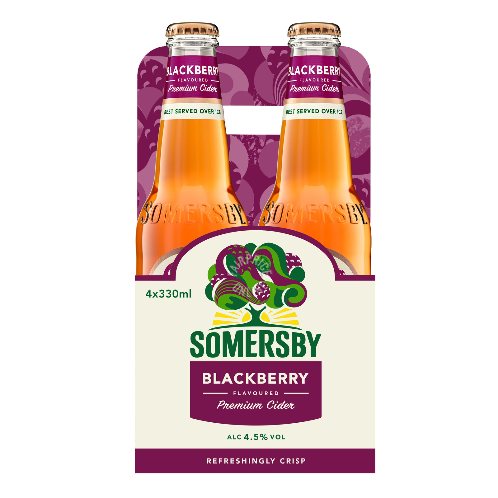 Somersby Bottle Cider - Apple with Blackberry