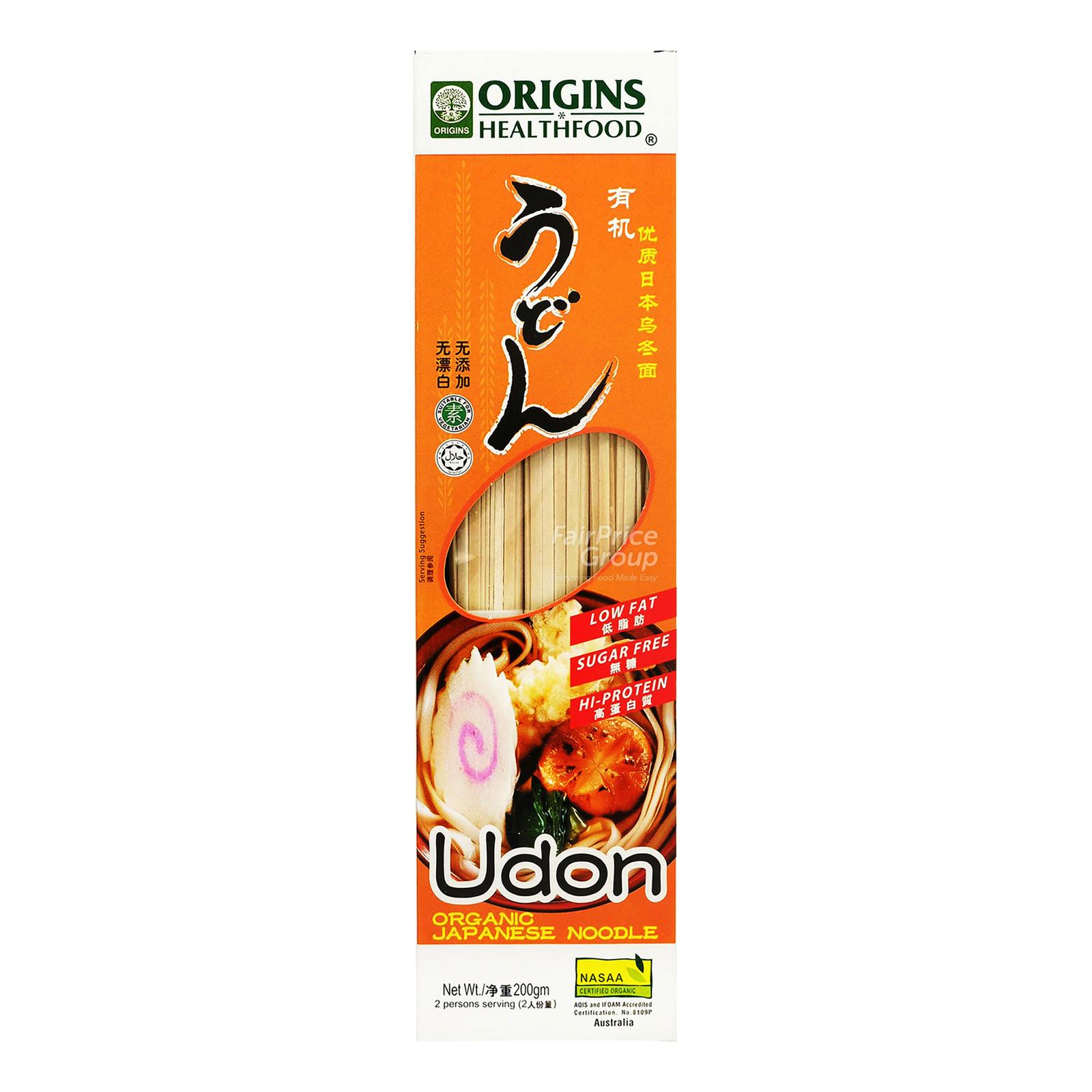Origins Healthfood Organic Japanese Noodle - Udon