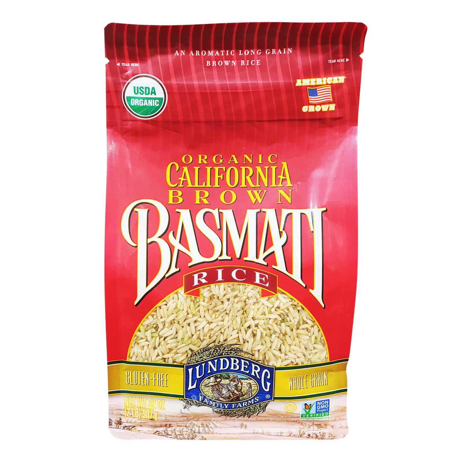 Lundberg Organic Brown Rice - California Basmati