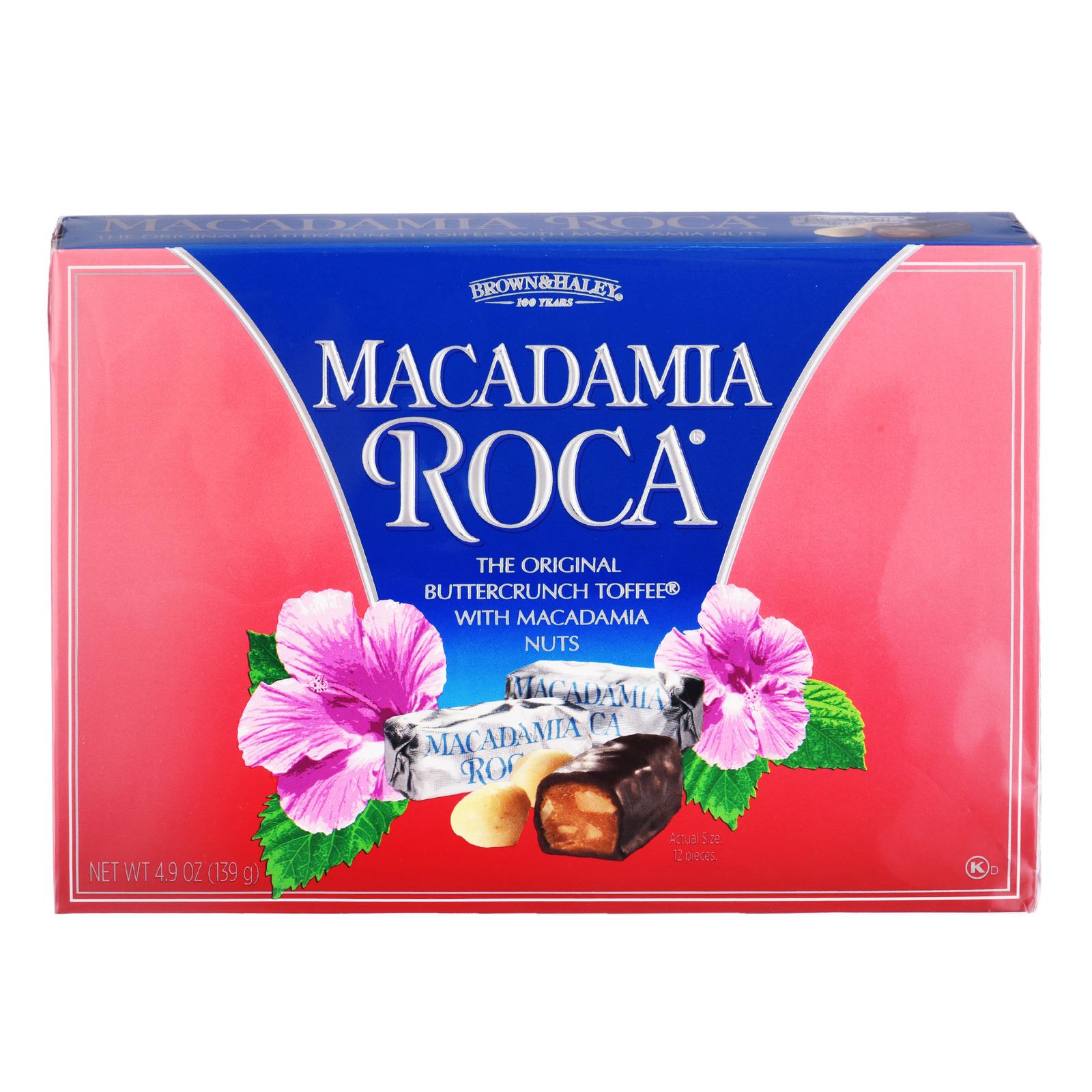 Brown & Haley Buttercrunch Toffee - Macadamia Roca