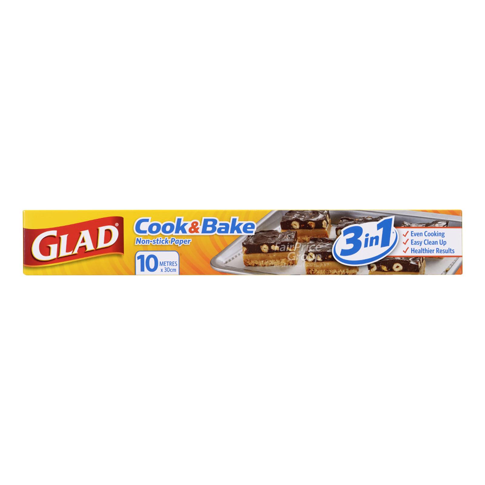 Glad Cook & Bake Non-stick Paper (10m)