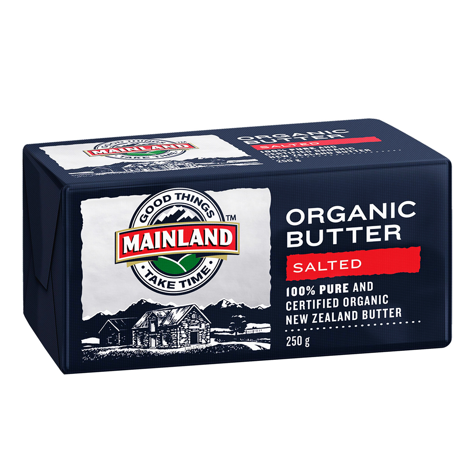 Mainland Organic Block Butter - Salted