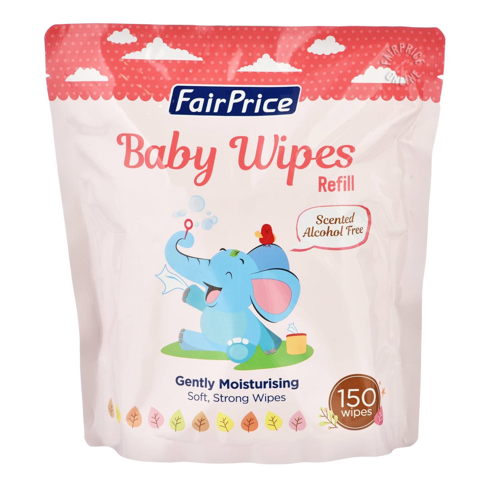 FairPrice Baby Wet Wipes Refill - Gently Moisturising