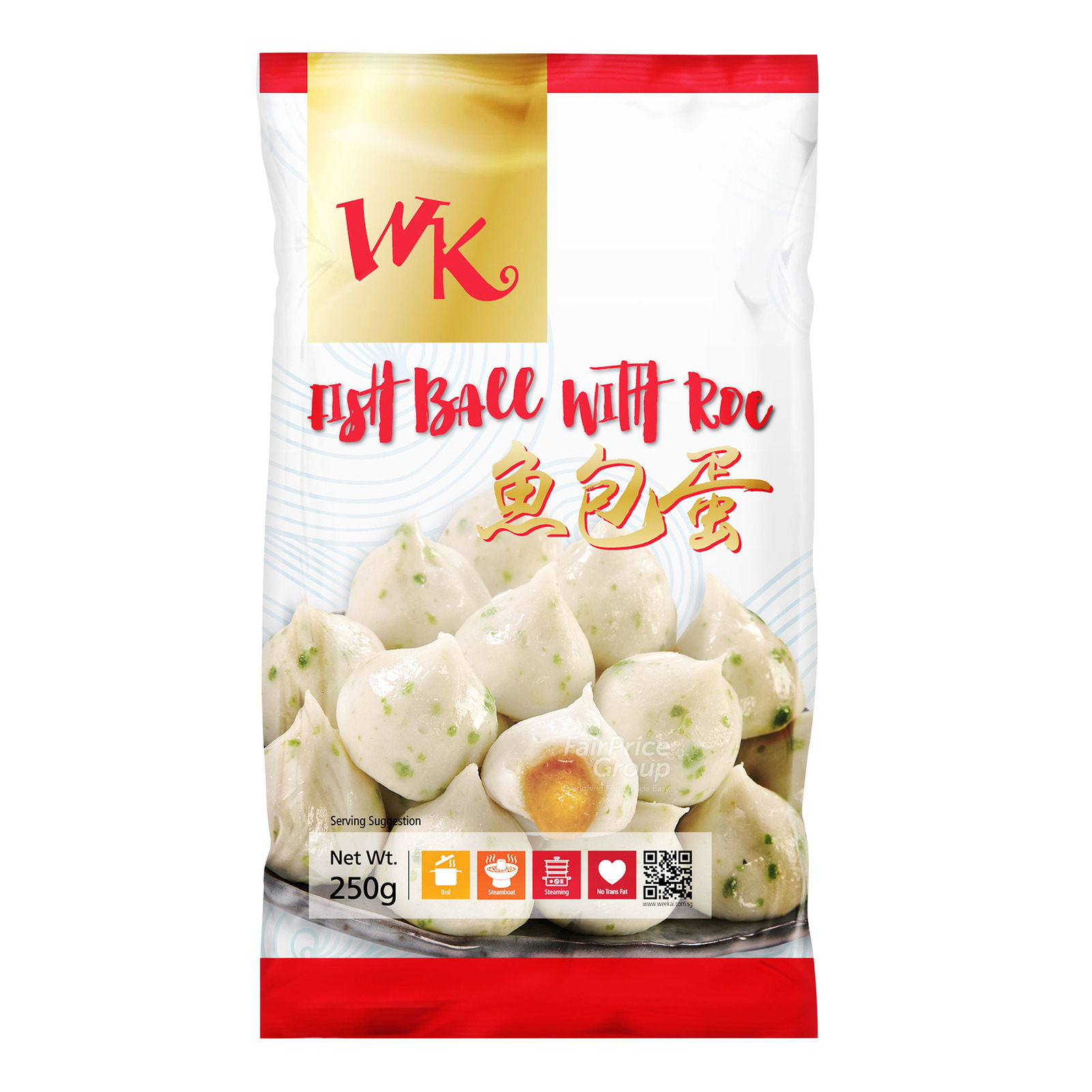WK Frozen Fish Ball with Roe
