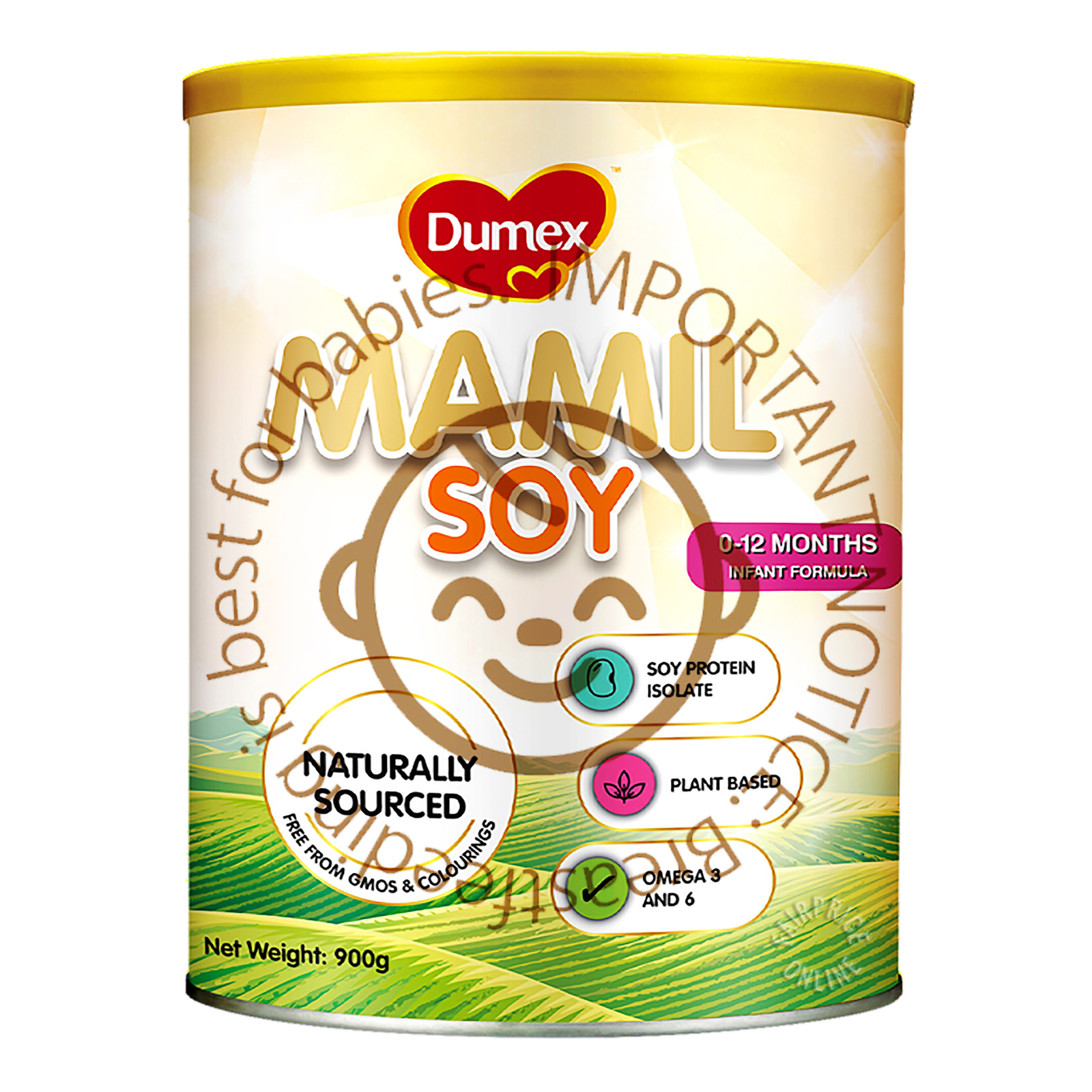 Dumex Mamil Gold Soy Infant Milk Formula - 0 To 12 Months Old