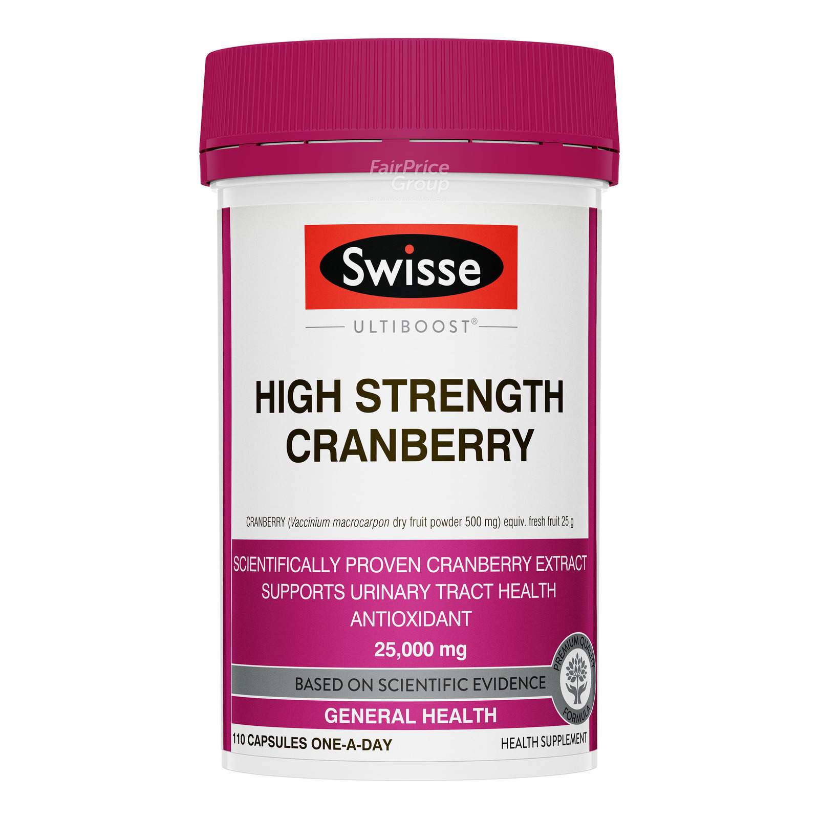 Swisse Supplement Capsules - High Strength Cranberry