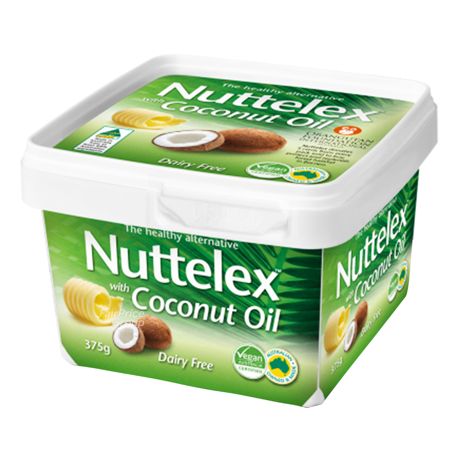NUTTELEX Buttery Spread With Coconut Oil 375g