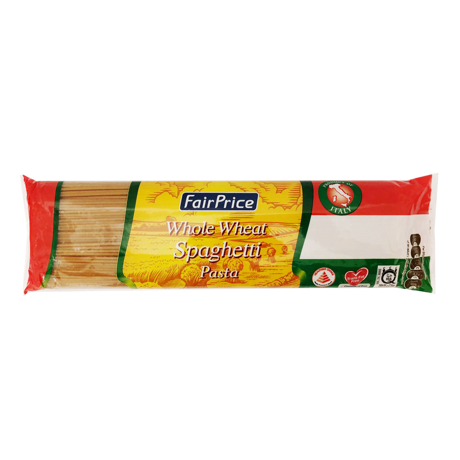 FairPrice Whole Wheat Pasta - Spaghetti