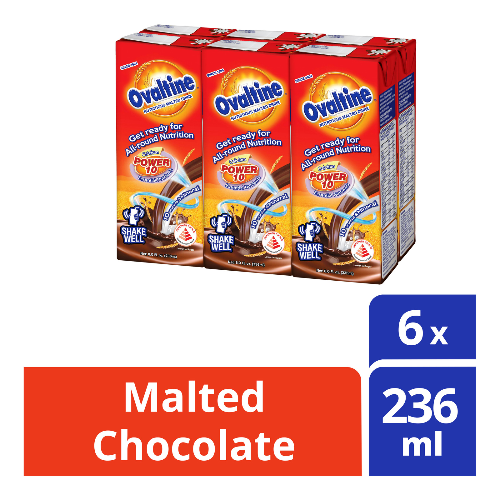 Ovaltine Malted Chocolate Packet Drink