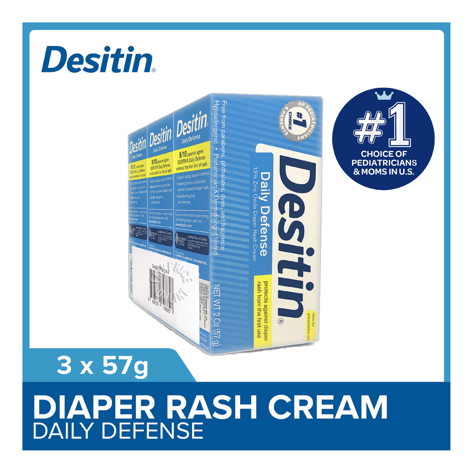 Desitin Diaper Rash Cream - Rapid Relief