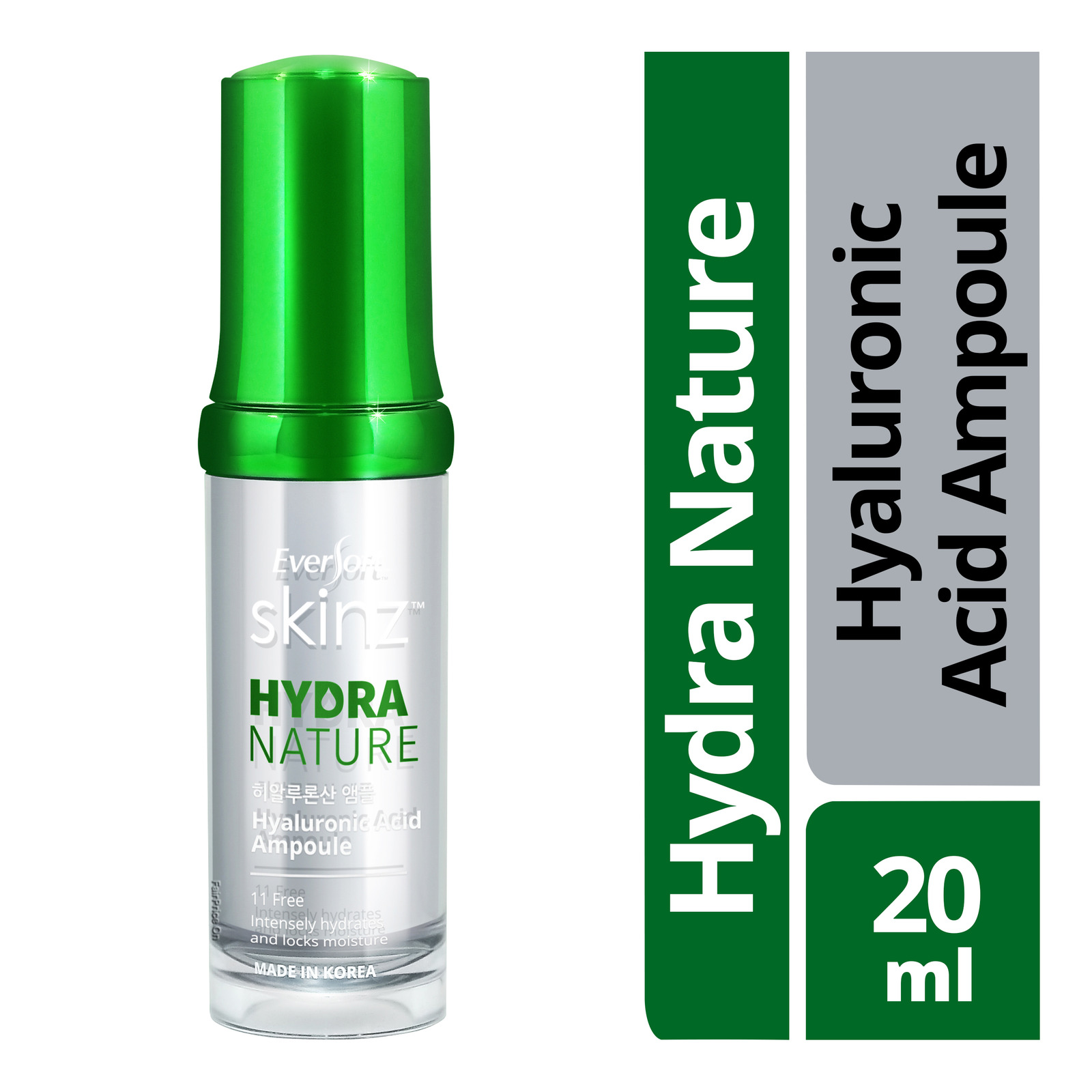 Eversoft Skinz Hydra Nature Hyaluronic Acid Ampoule
