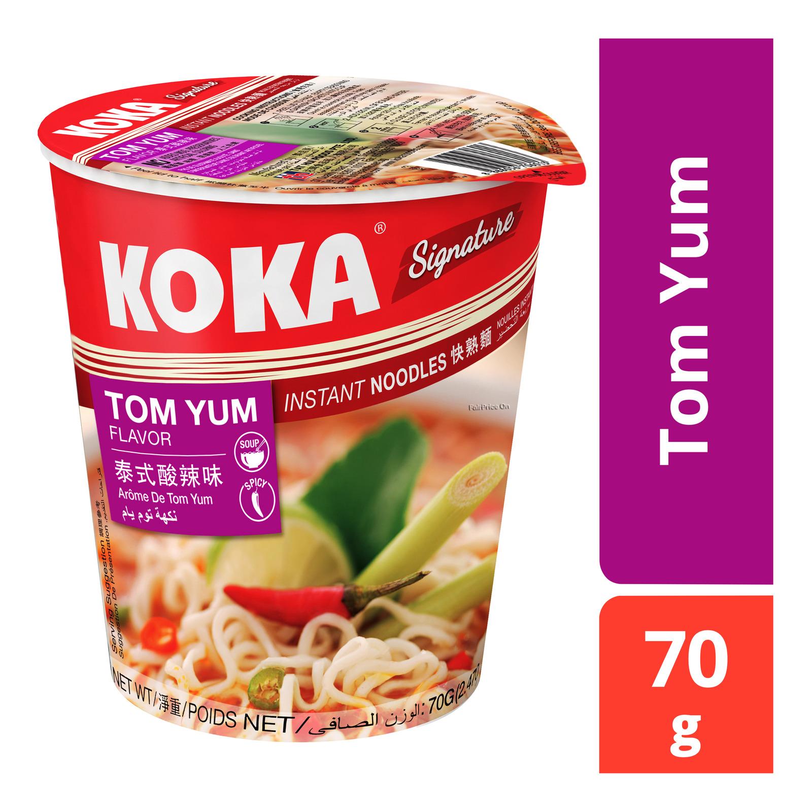 Koka Instant Cup Noodles - Tom Yum