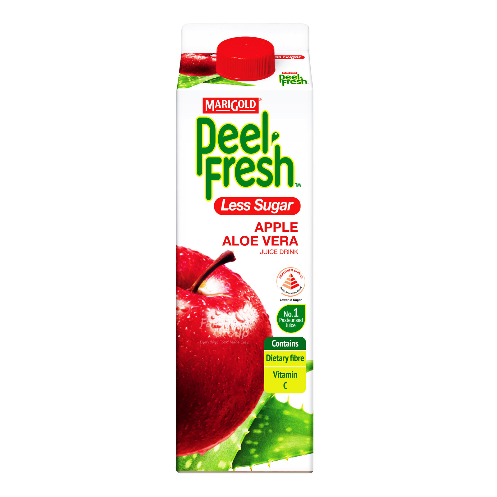 Marigold Peel Fresh Juice - Apple & Aloe Vera (Less Sugar)