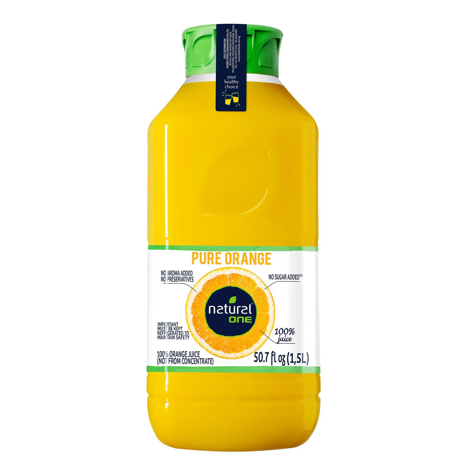 Naturalone Bottle Juice - Pure Orange