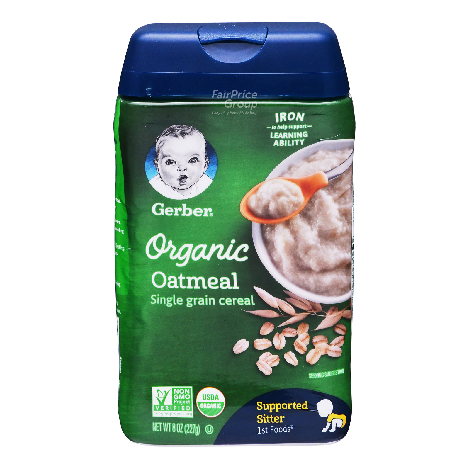 Gerber Organic Baby Cereal - Oatmeal