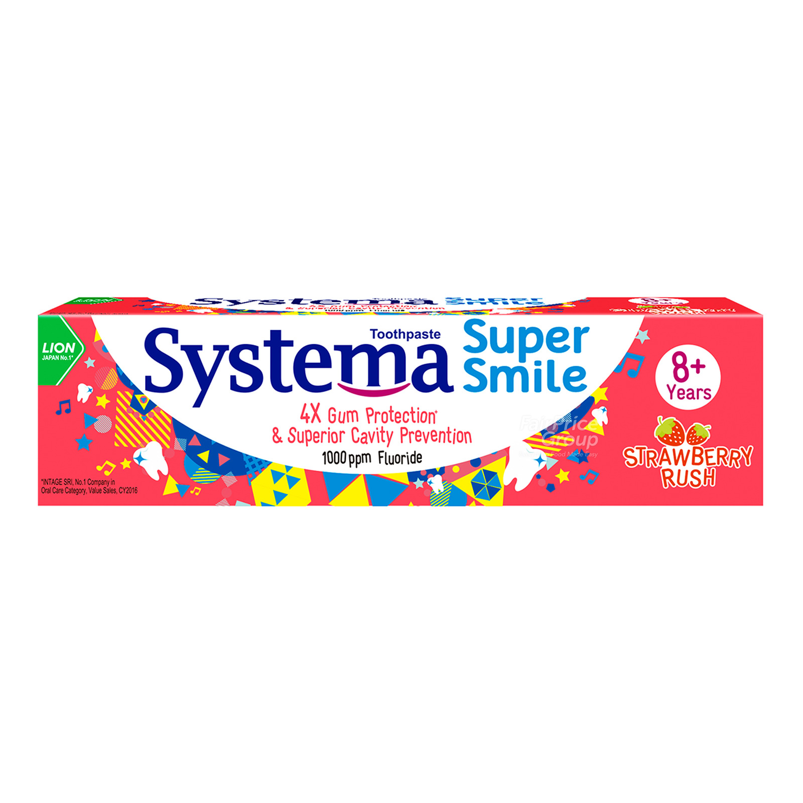 Systema Super Smile Toothpaste - Strawberry Rush (8+ years)