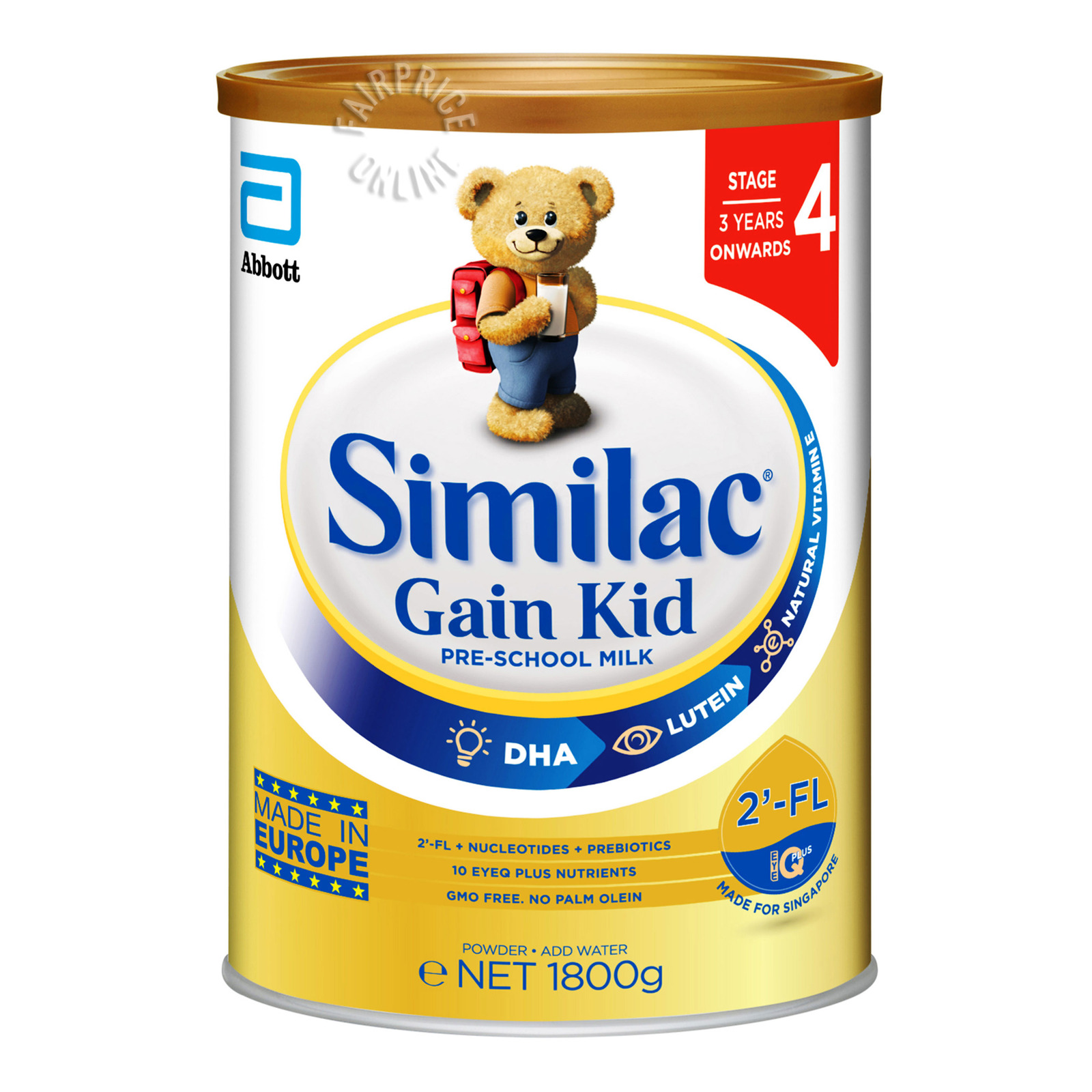 Abbott Similac Gain Kid Pre-School Milk Formula - Stage 4