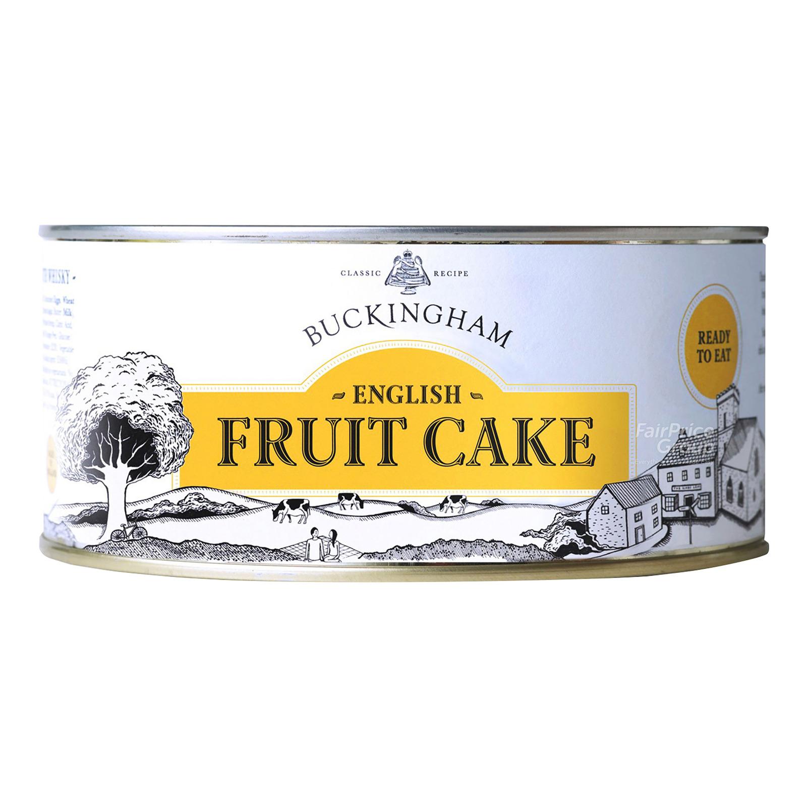 Buckingham English Fruit Cake