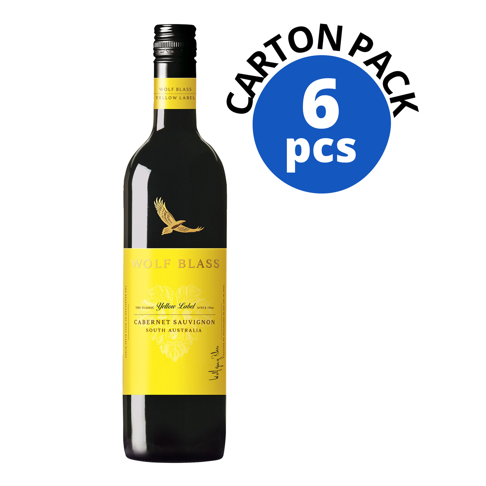 Wolf Blass Yellow Label Red Wine - Cabernet Sauvignon