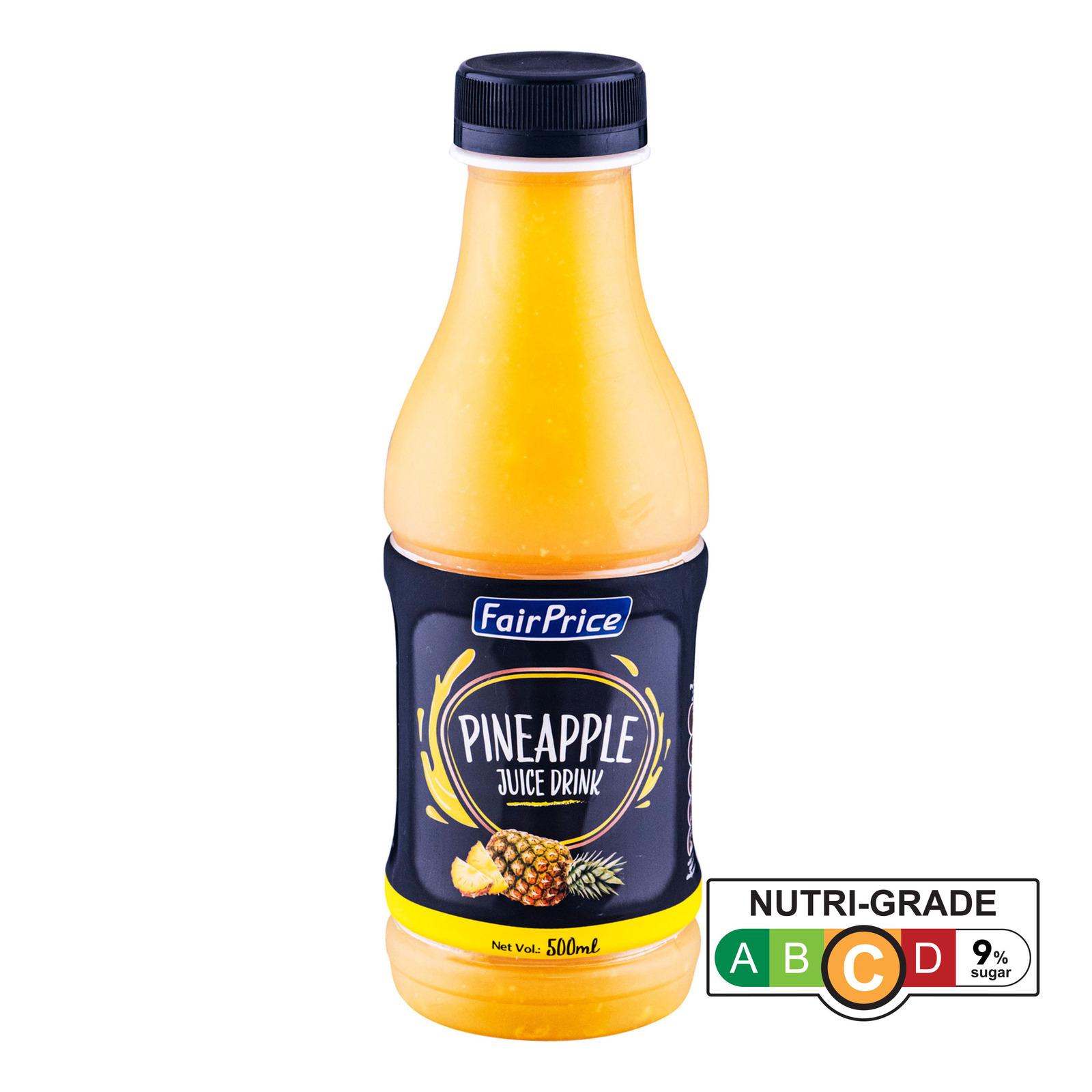 FairPrice Bottle Juice - Pineapple