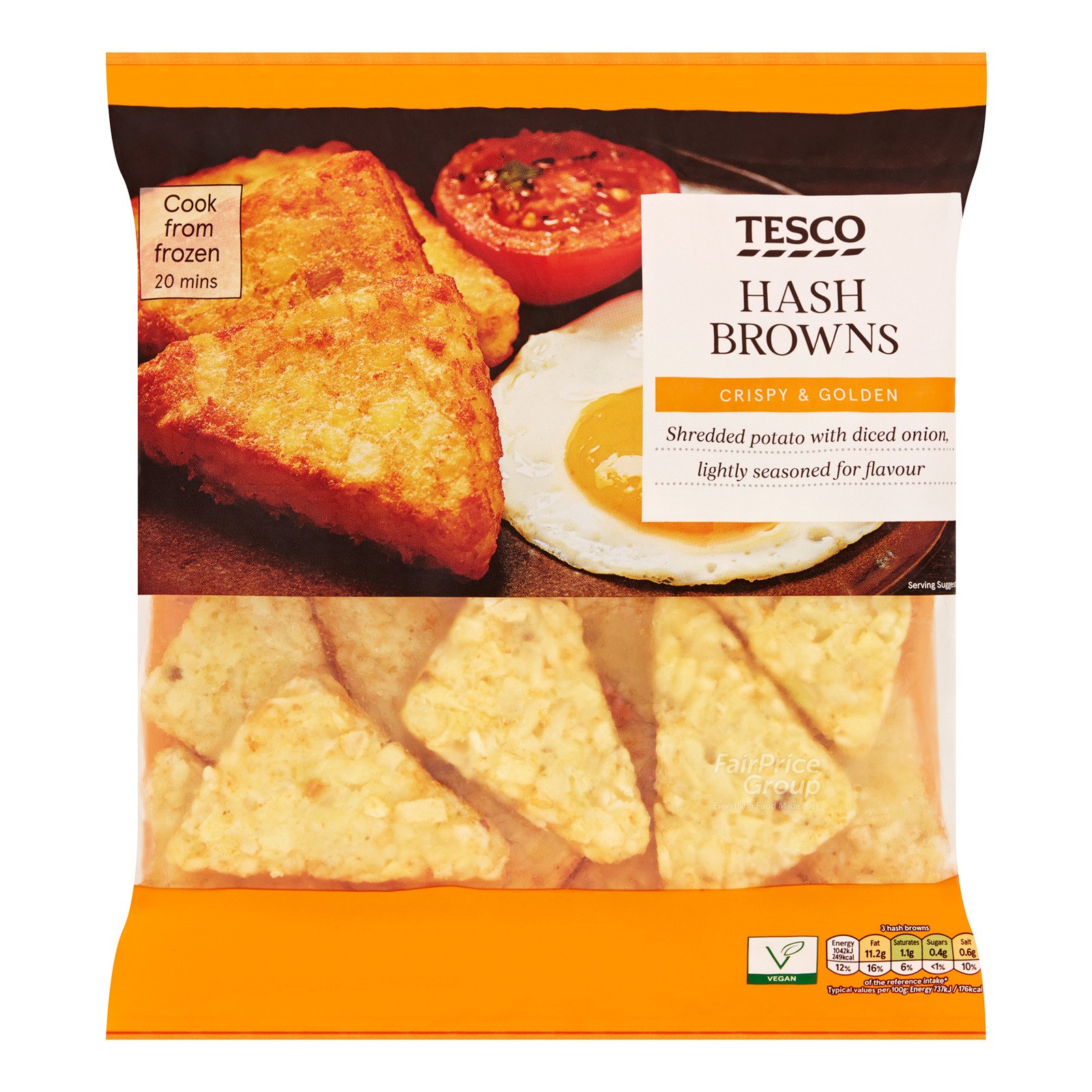 Tesco Frozen Hash Browns