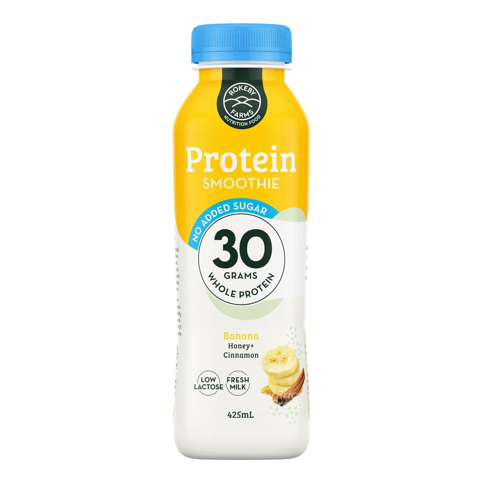 Rokeby Farms Whole Protein Smoothie - Banana, Honey & Cinnamon