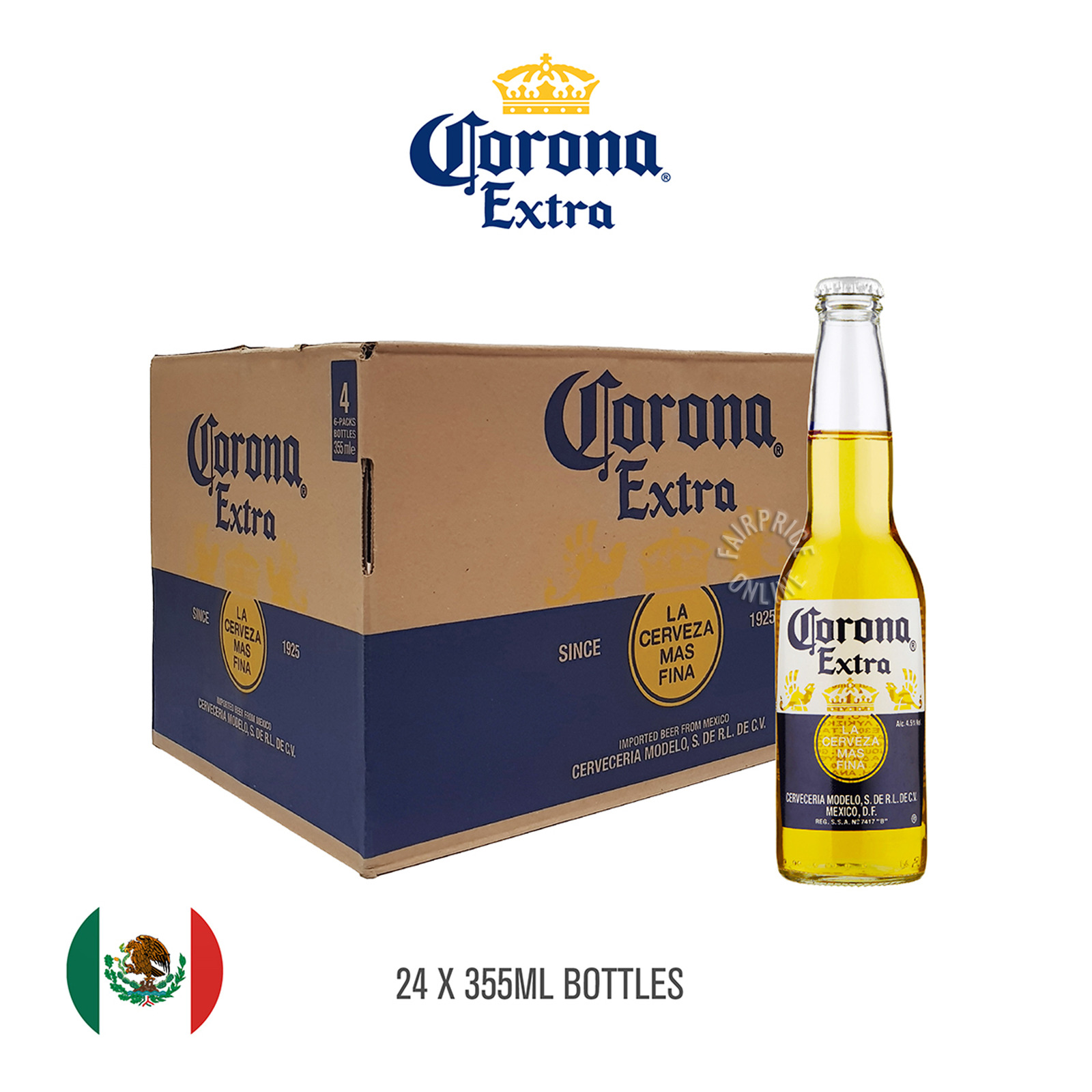 Corona Bottle Beer - Extra