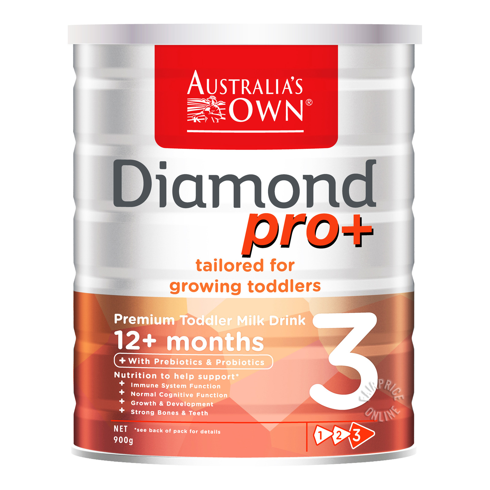 Australia's Own Diamond Pro+ Toddler Milk Formula - Stage 3
