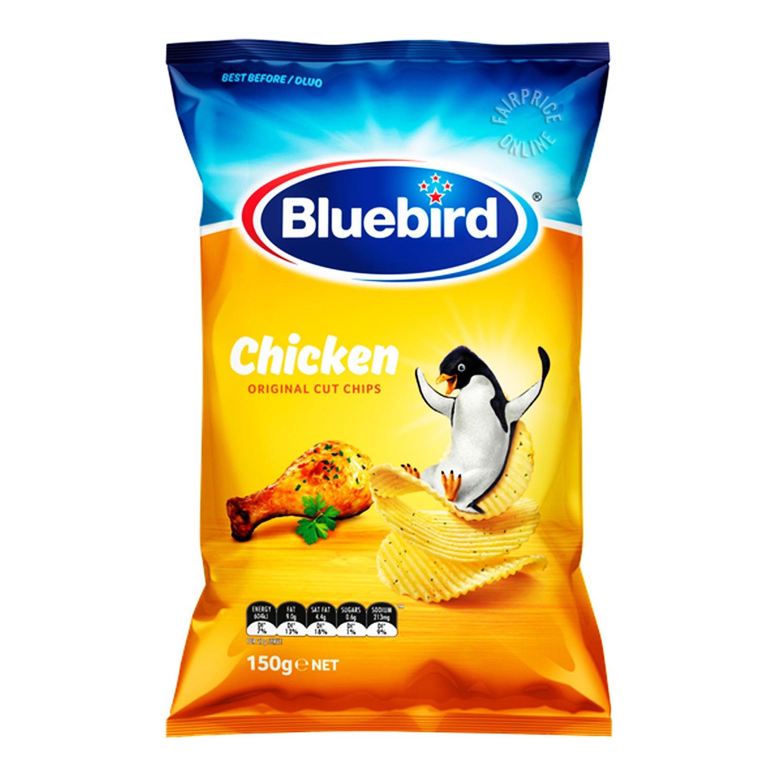 Bluebird Original Cut Chips - Chicken