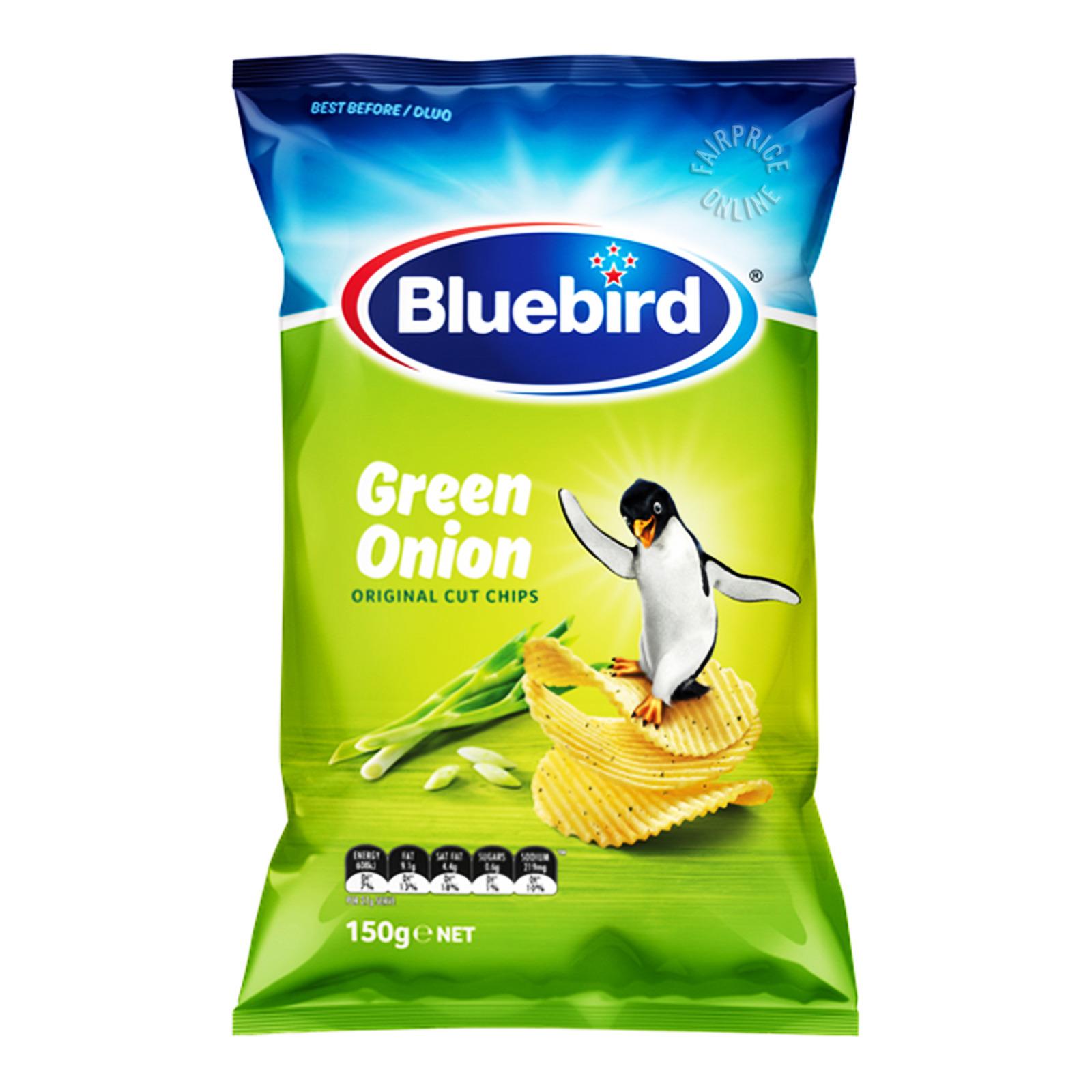Bluebird Original Cut Chips - Green Onion