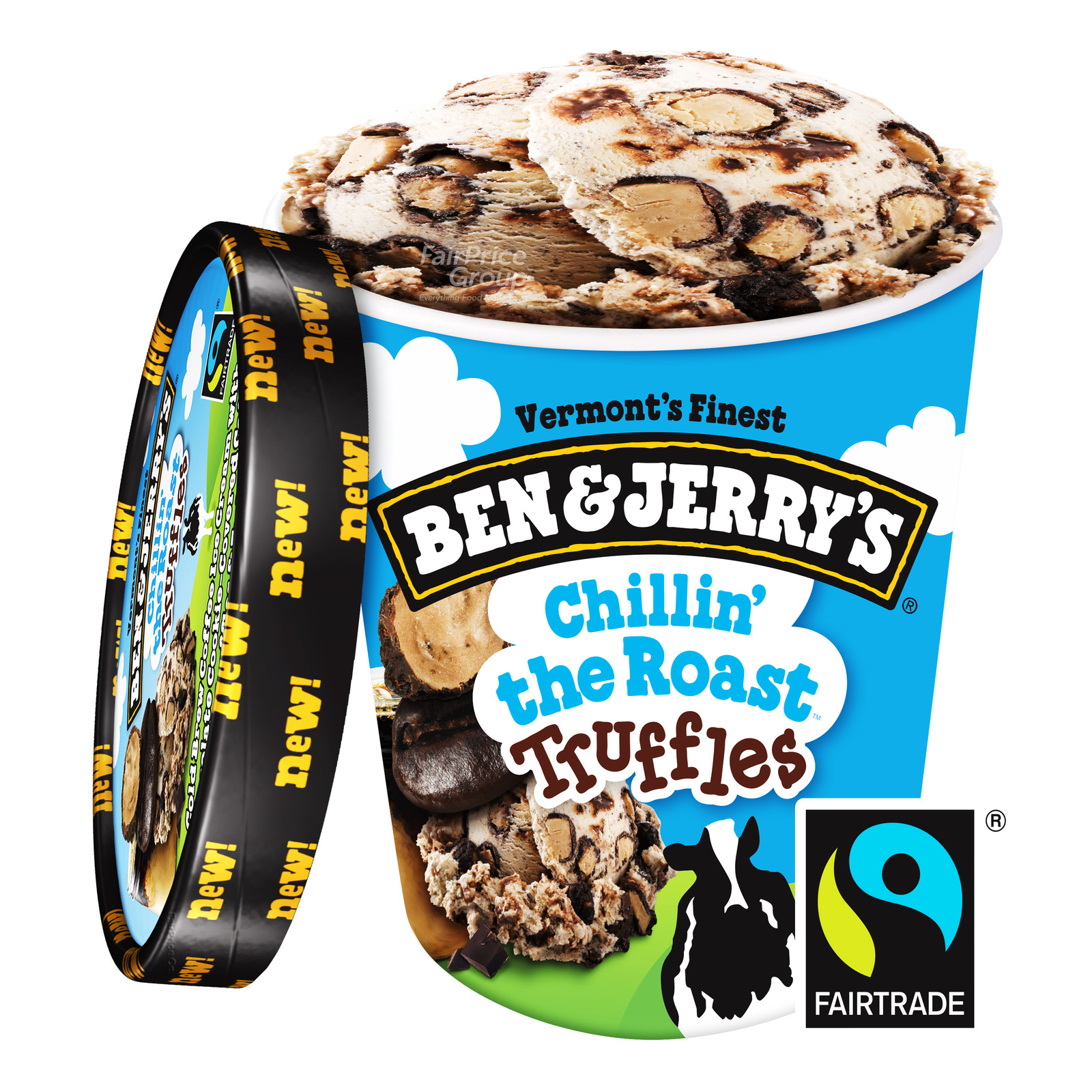 Ben & Jerry's Ice Cream - Chillin' The Roast Truffles