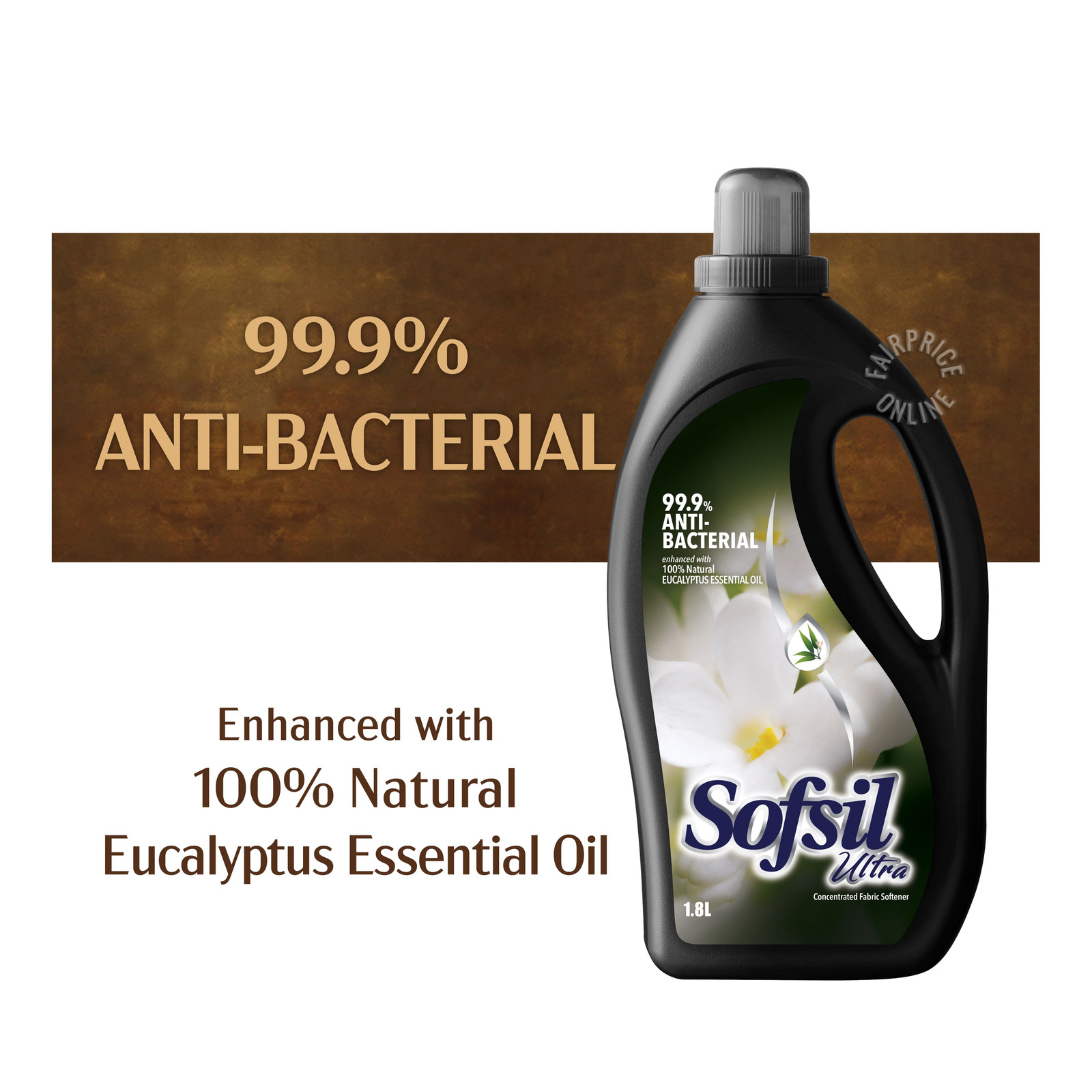Sofsil Ultra Concentrated Fabric Softener - Anti-Bacterial