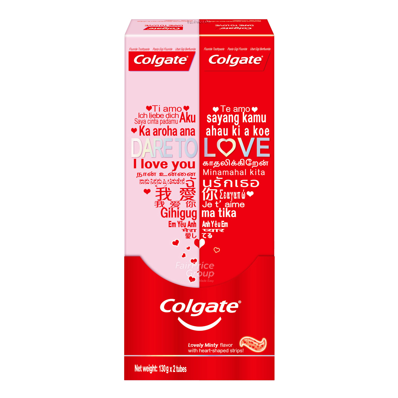 Colgate Dare to Love Toothpaste - Lovely Mint