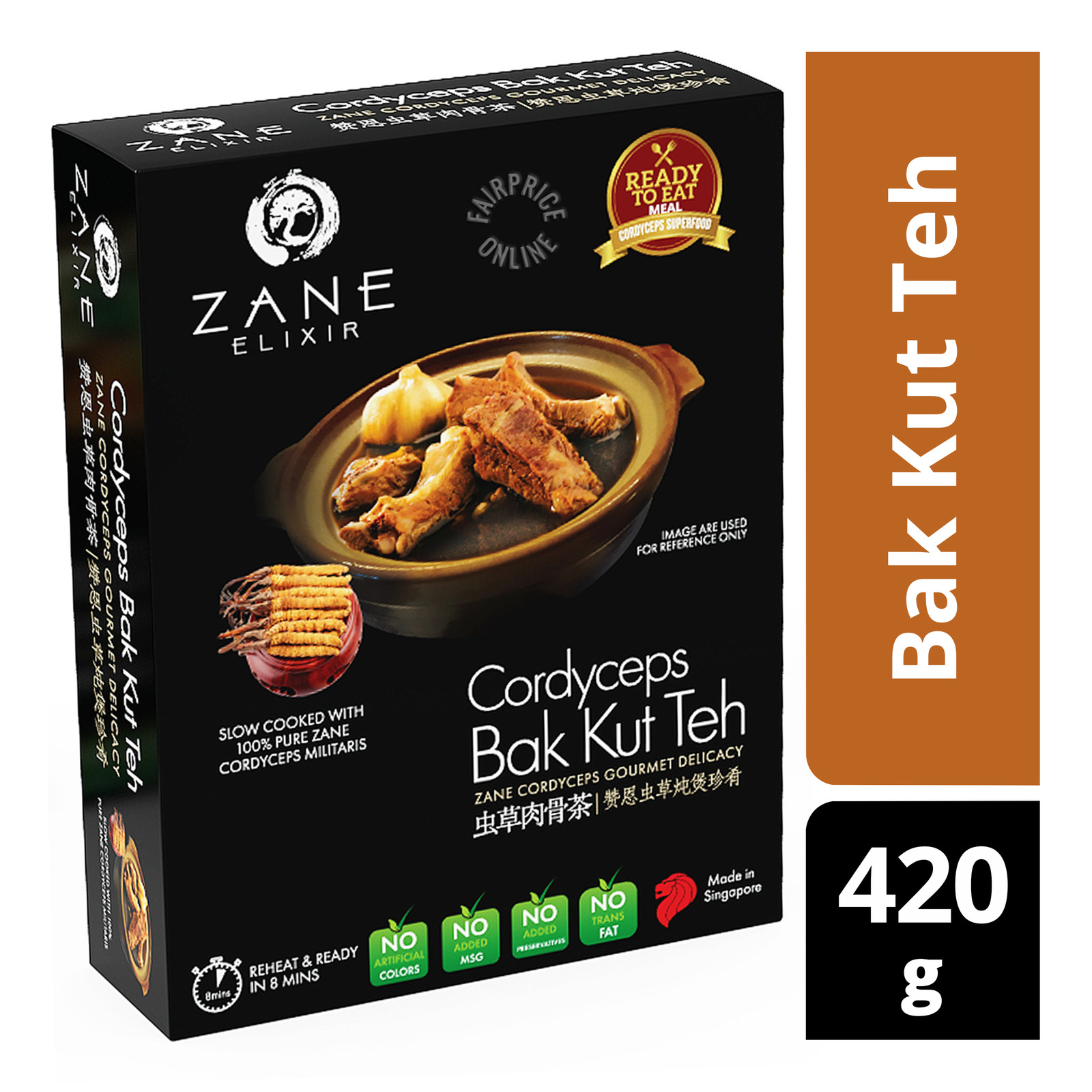 Zane Elixir Cordyceps Ready to Eat Meal - Bak Kut Teh