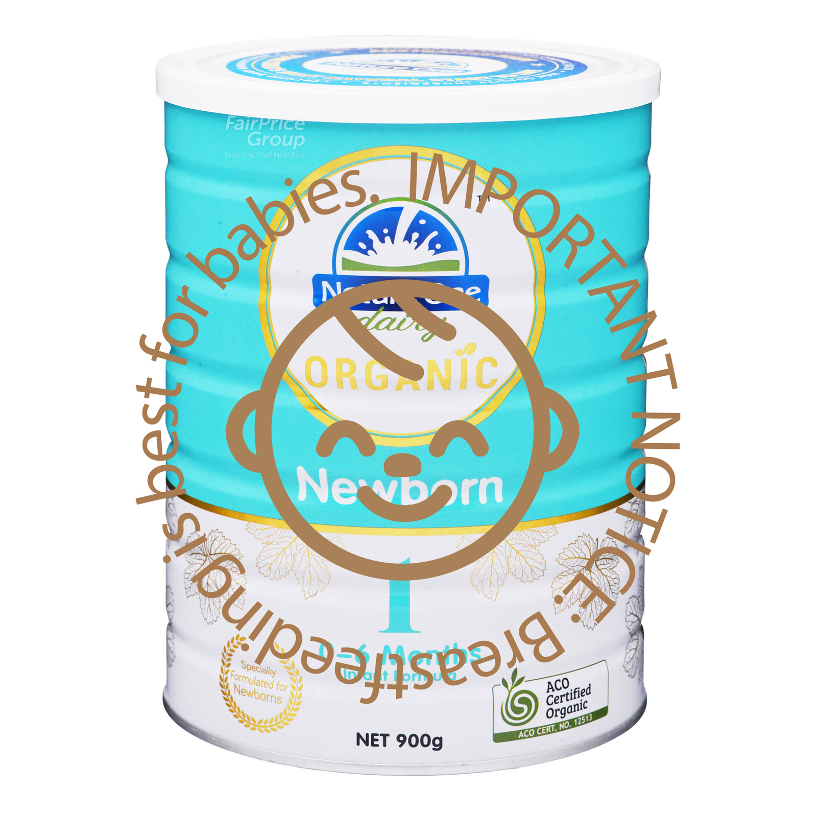 Nature One Dairy Organic Newborn Milk Formula - Stage 1