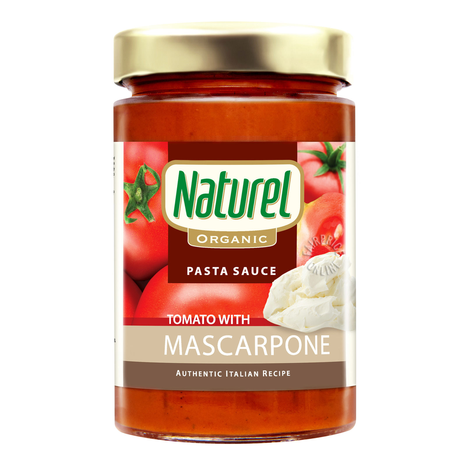 Naturel Organic Pasta Sauce - Tomato with Mascarpone