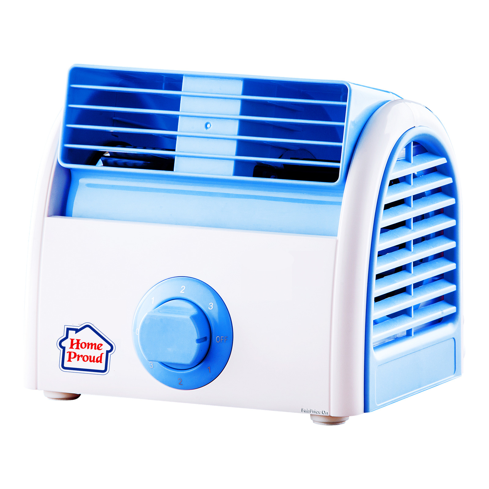 HomeProud Mini Turbo Fan - Blue (HP07)