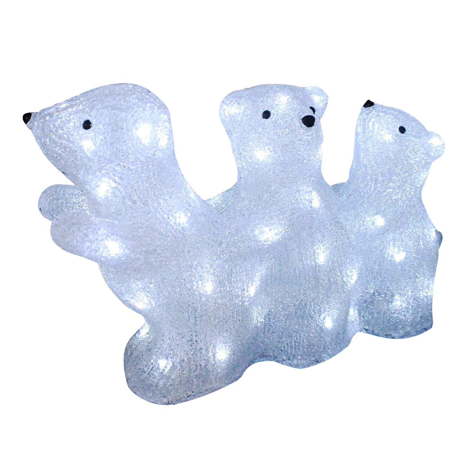 Imported Lighted Polar Bears