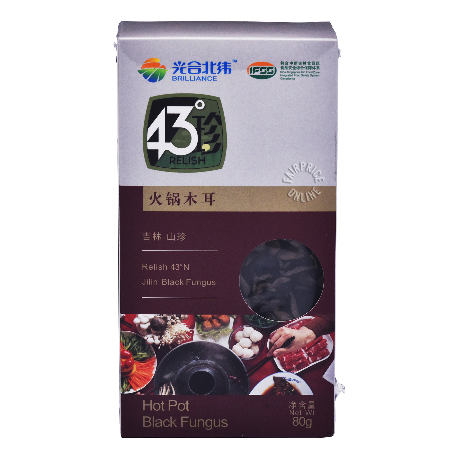Brilliance 43° Relish Series Jilin Black Fungus - Hot Pot
