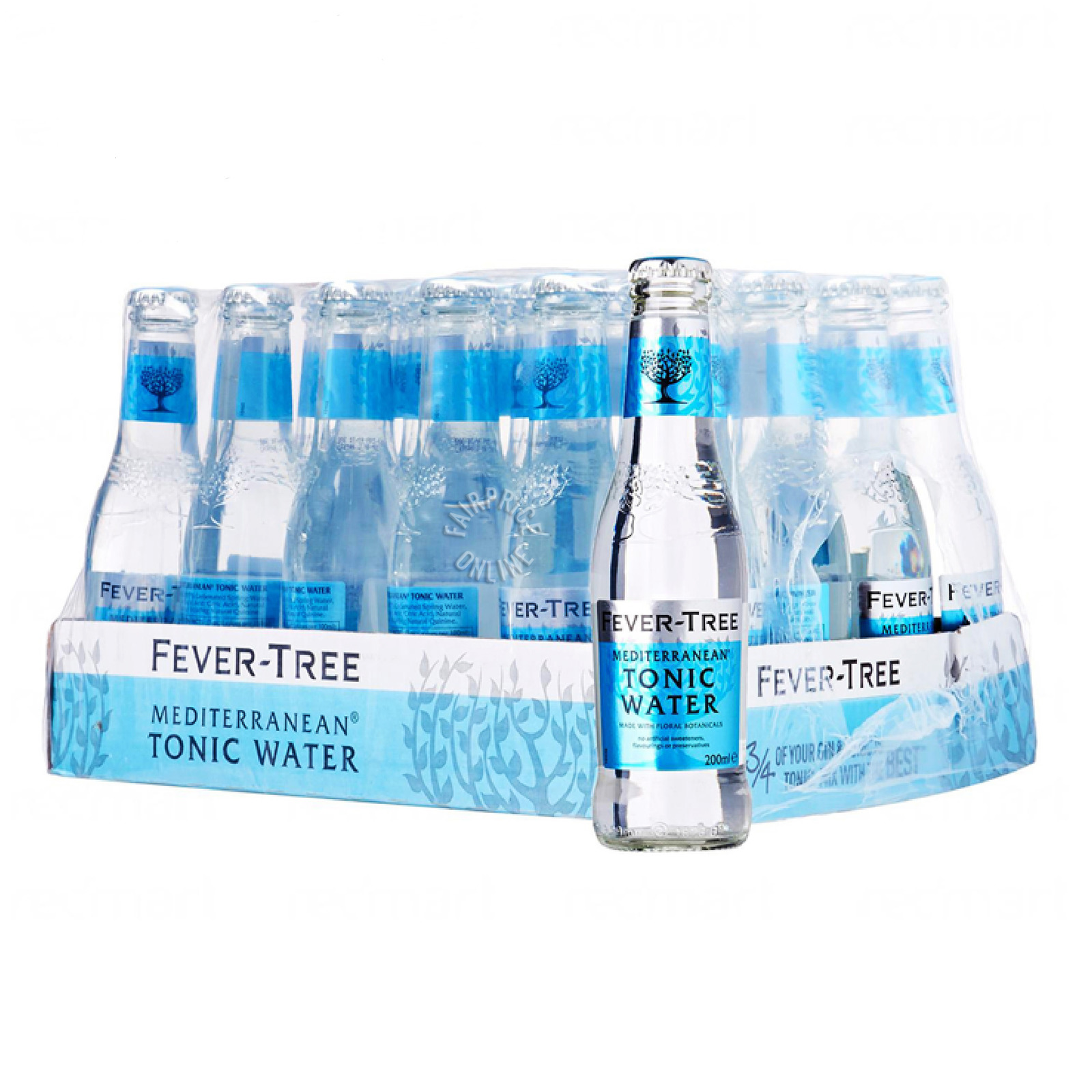 Fever-Tree Bottle Tonic Water - Mediterranean